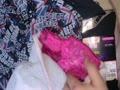 娘の部屋に落ちてるオリシー付きサテンパンツのシミ汚れをご覧あれwww【動画】